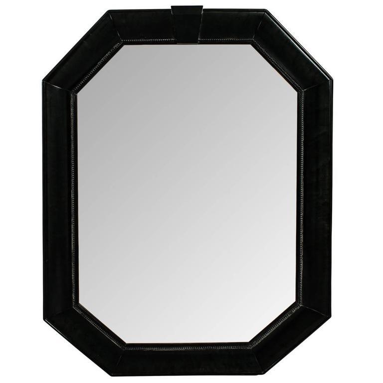 Henredon Octagonal Mirror