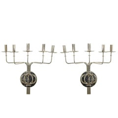 Tommi Parzinger Five-Arm Sconces