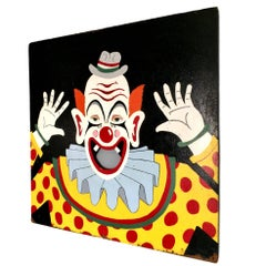 Massive Carnival Toss Hand-Painted Board