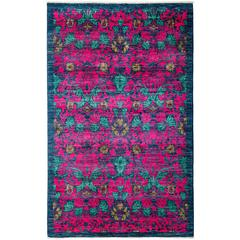Pink Arts And Crafts Area Rug, Solo Rugs