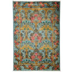 Blue Arts and Crafts Area Rug