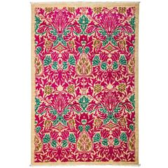 Pink Arts And Crafts Area Rug