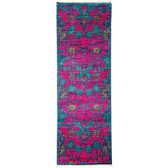 Pink Arts and Crafts Runner, Solo Rugs