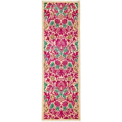 Pink Arts and Crafts Runner