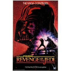 """Revenge Of The Jedi"" Film Poster, 1983"