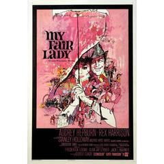 """My Fair Lady"" Film Poster, 1964"