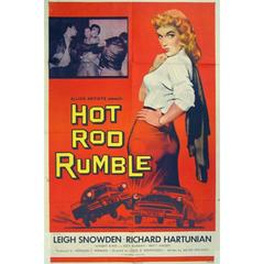 Hot Rod Rumble, Poster, 1957