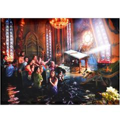 Large David LaChapelle Cathedral C-Print