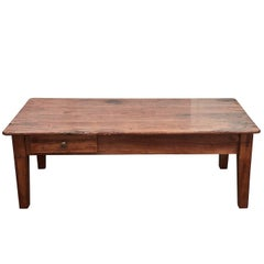 19th Century French Cherry Coffee Table