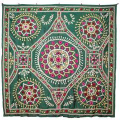 1930s Uzbek Silk Suzani