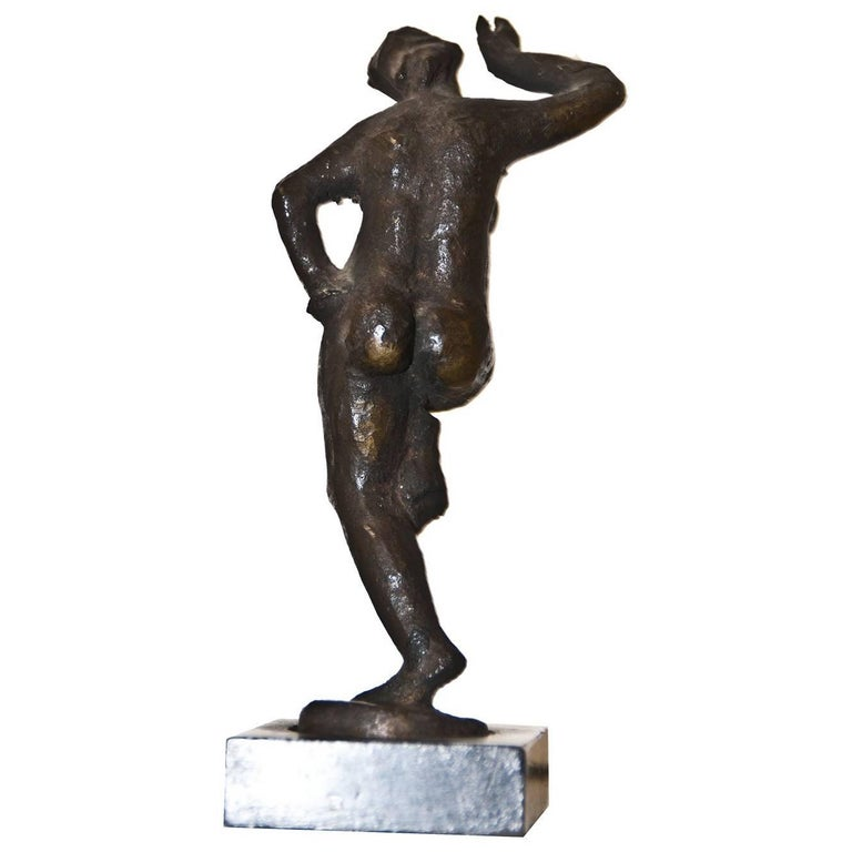"Bronze Sculpture ""Step Dance"" by Giuseppe Mazzullo, Italy, 1946 For Sale"