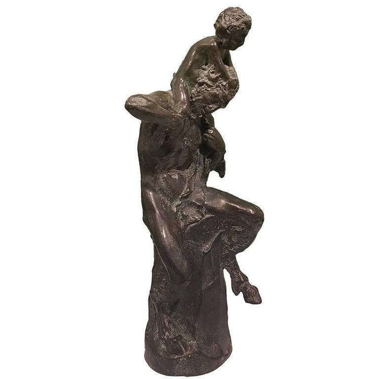 Satyr Sculpture by Aurelio Mistruzzi, Italy, 1930 For Sale