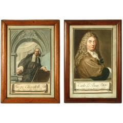 Italian Engraved Portraits of Artists and Scholars, Carlo Lasinio, 18th Century