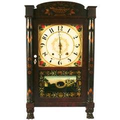 Seth Thomas Mahogany Shelf Clock, c1835