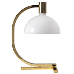 Gold-Plated AM/AS Table Lamp by Franco Albini, Antonio Piva and Franca Helg
