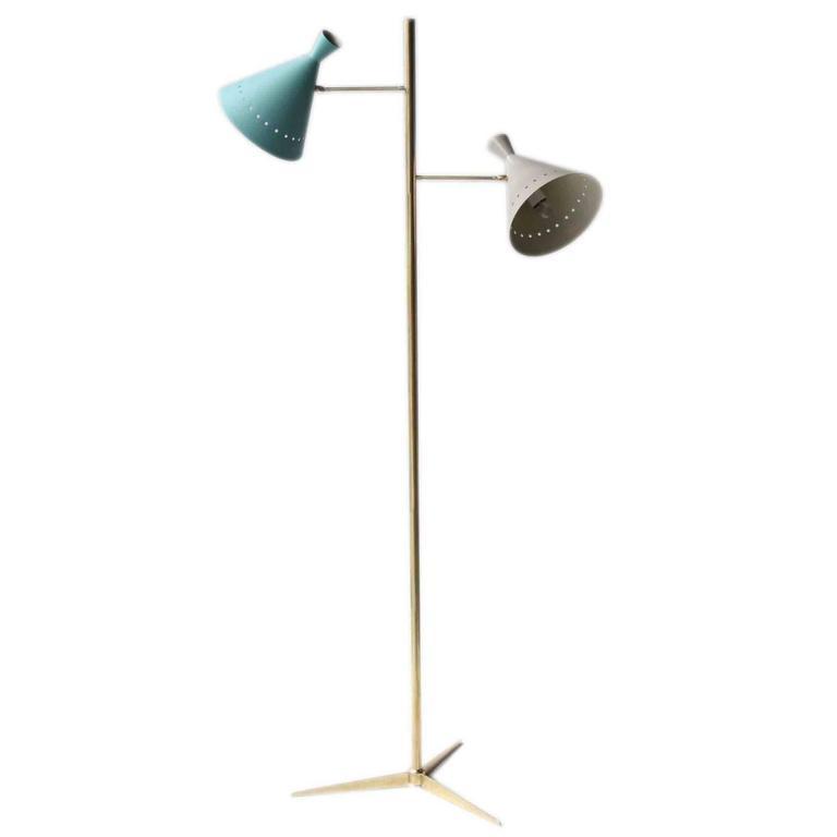 Floor Lamp, Italian, 1950s Style.
