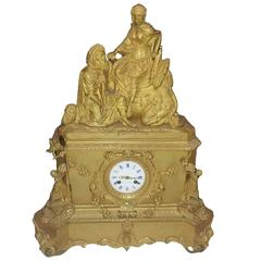 19th Century Leroy Table Clock