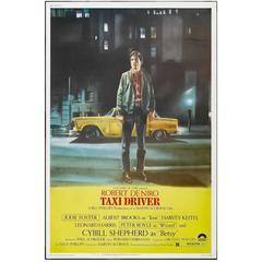 """Taxi Driver"" Film Poster, 1976"