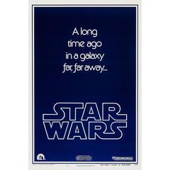 """Star Wars"" Film Poster, 1977"