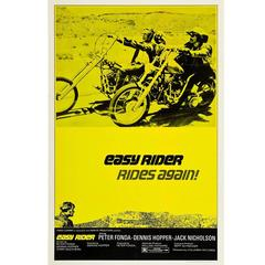 """Easy Rider"" Poster, R-1972"