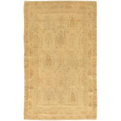 Antique Turkish Borlou Rug