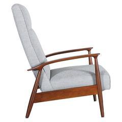 Milo Baughman Reclining Lounge Chair for Thayer Coggin