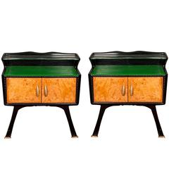 1930s Italian Bedside Tables
