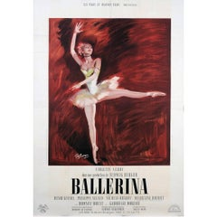 """""""Ballerina"""" Film Poster, 1950"""