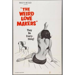"""""""The Weird Love Makers"""" Film Poster, 1960"""