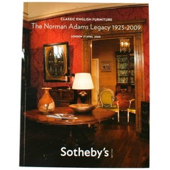 Norman Adams Auction Catalogue from Sothey's London