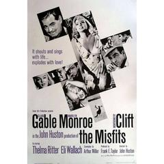 """The Misfits"", Poster, 1961"