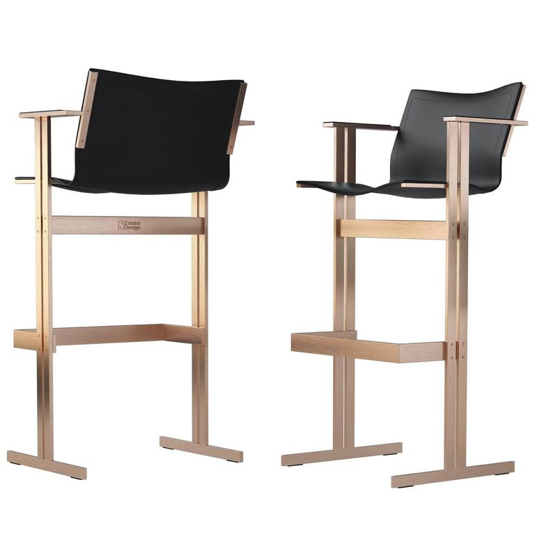 Two Modern Barchairs For Sale