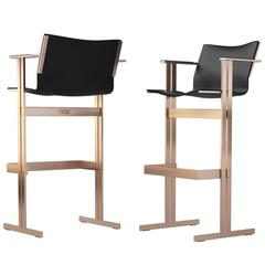 Two Modern Barchairs