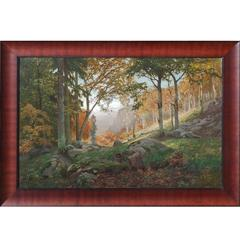 Spanish Pyrenees Landscape by Barcelona Painter Ros i Guell