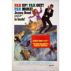 """On Her Majesty's Secret Service"" Film Poster, 1969"