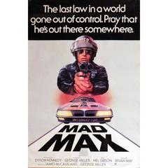 """Mad Max"", Poster, 1979"