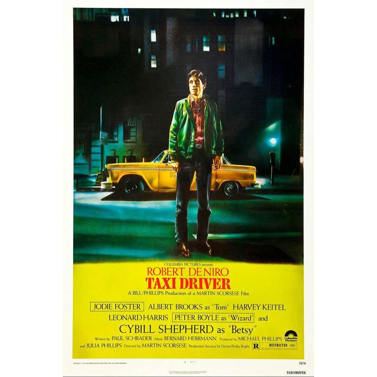 """""""Taxi Driver"""", Poster 1976"""
