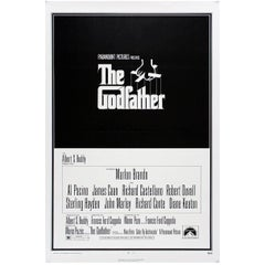 """""""The Godfather"""" Film Poster, 1972"""