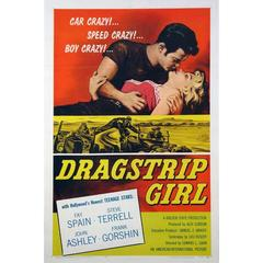 """Dragstrip Girl"" Film Poster, 1957"