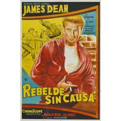 """""""Rebel Without a Cause"""" Film Poster, 1955"""