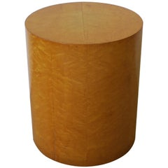 Modern Round Pedestal Side Table