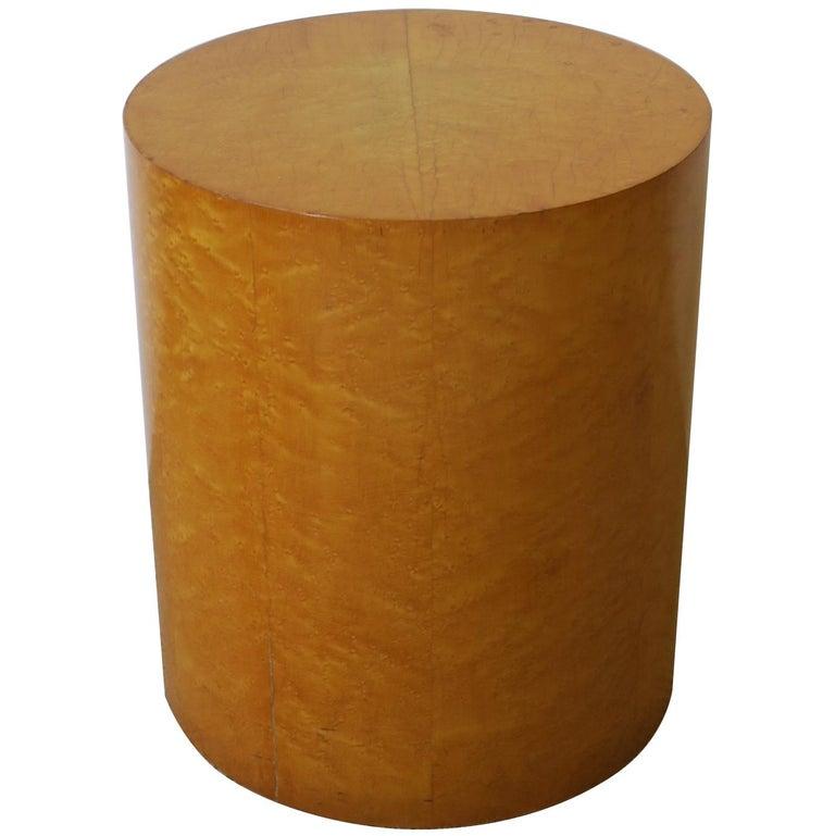 Modern Round Pedestal Side Table
