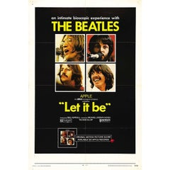 """""""Let It Be"""" Film Poster, 1970"""