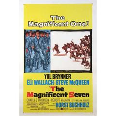 """The Magnificent Seven"" Film Poster, 1960"