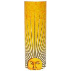 Decorative Fornasetti 'Sole' Lamp, Italy, 1990s
