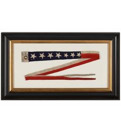 U.S. Navy Commissioning Pennant with 7 Stars