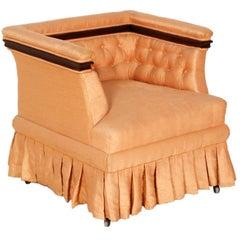 1920s Antique Art Nouveau Armchair Club Chair Bedroom Armchair
