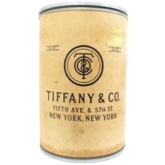 Tiffany & Company Shipping Barrel