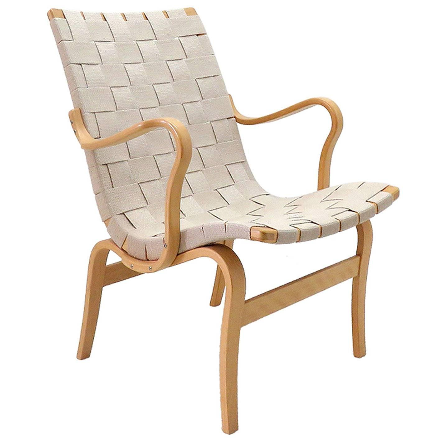 Merveilleux Bruno Mathsson For DUX U0027Evau0027 Armchair At 1stdibs