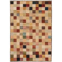 Gorgeous Contrasted Indian Rug
